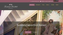 www.turmhotel-weserblick-bremen.de Vorschau, Turmhotel Weserblick Bremen