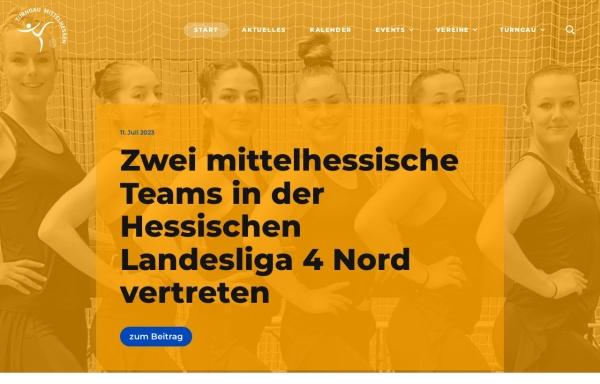Vorschau von www.turngau-mittelhessen.de, Turngau Mittelhessen