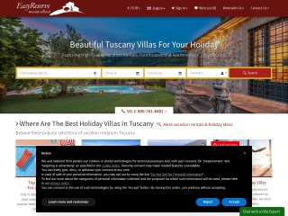 screenshot tuscany-villas.it