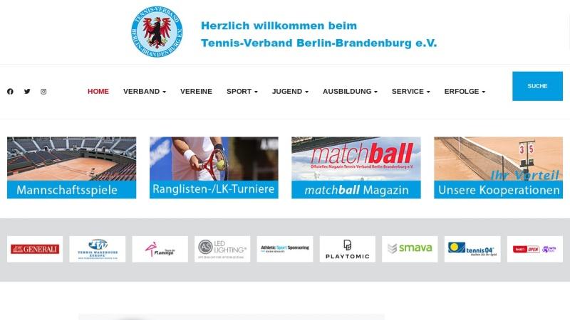 www.tvbb.de Vorschau, Tennis-Verband Berlin-Brandenburg