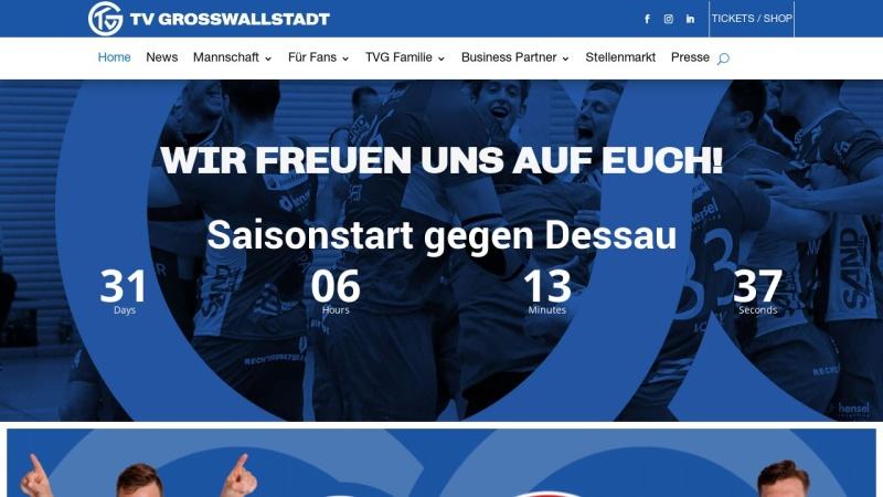www.tvgrosswallstadt.de Vorschau, TV Großwallstadt