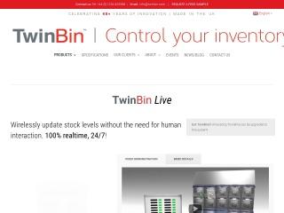 Screenshot for twinbin.com