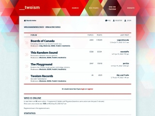 Screenshot for twoism.org