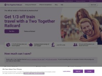 Two Together Railcard Fast Coupon & Promo Codes