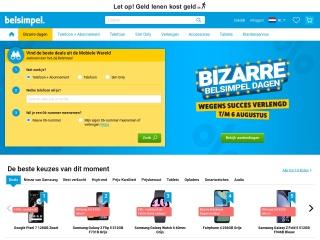 Screenshot voor typhone.nl