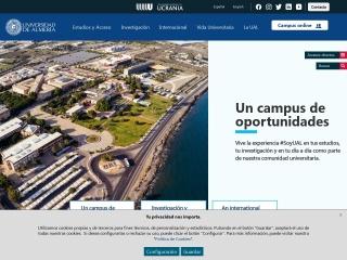 Captura de pantalla para ual.es