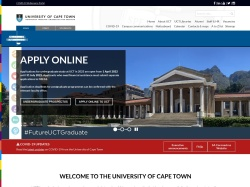 University of Cape Town / Welcome to UCT online