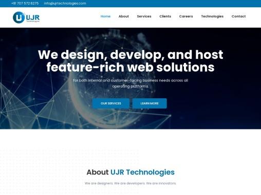 Ujr Technologies | Digital Marketing Services in Hyderabad