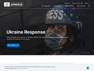 Screenshot for unesco.org