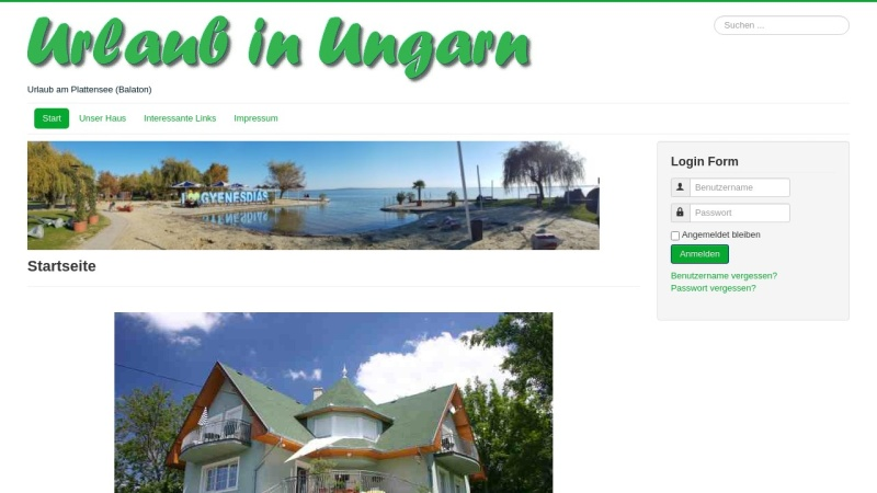 www.ungarnurlaub.de Vorschau, Ferienhaus Margrit