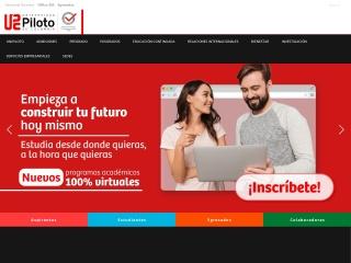 Captura de pantalla para unipiloto.edu.co