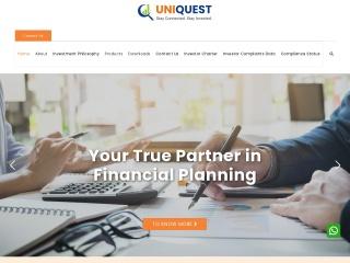 Screenshot for uniquest.co.in