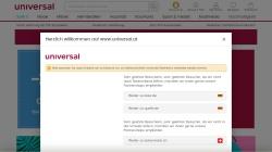 www.universal.at Vorschau, Universal Versand GmbH