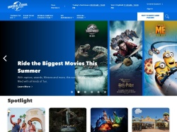 Universal Studios Hollywood   Official site of Universal