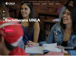 Captura de pantalla para unla.mx