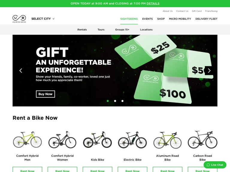 Unlimited Biking screenshot