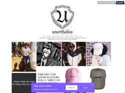 Unorthodoxcloth Tumblr coupon codes September 2018