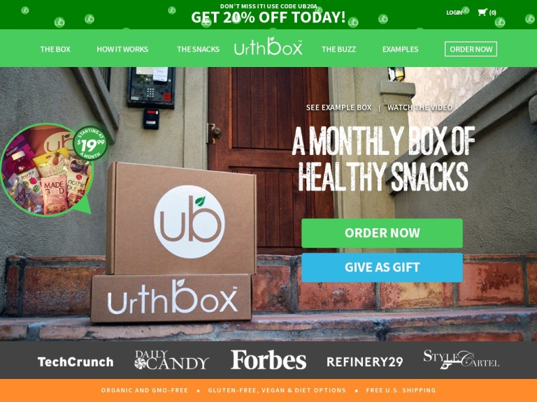 UrthBox screenshot