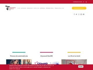 Captura de pantalla para us.es