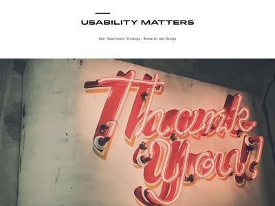 http://www.usabilitymatters.com