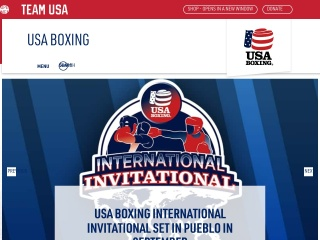 Screenshot for usaboxing.org