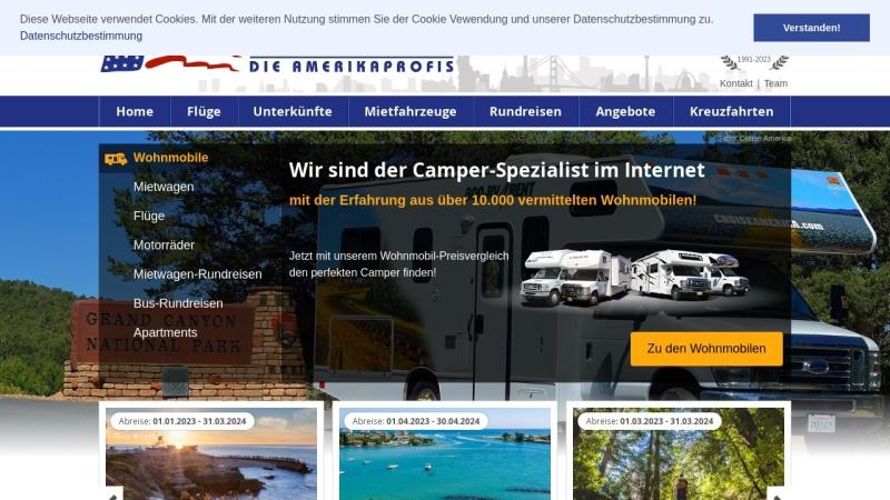 www.usareisen.de Vorschau, Flamingo Company Fernreisen GmbH