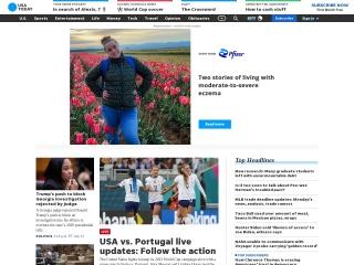 Screenshot for usatoday.com