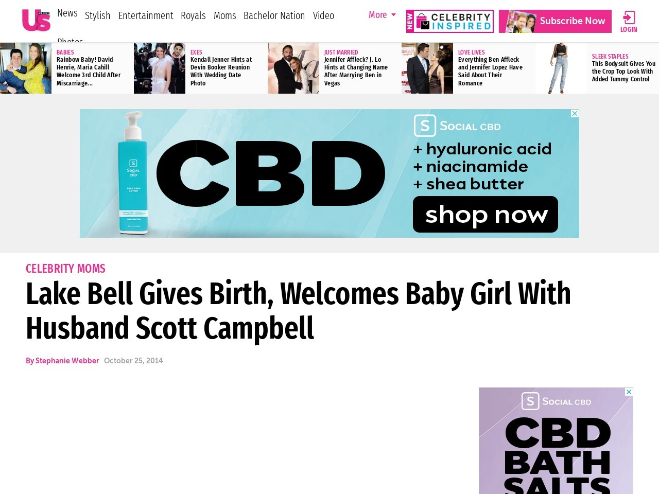 Lake Bell Gives Birth, Welcomes Baby Girl With Scott …