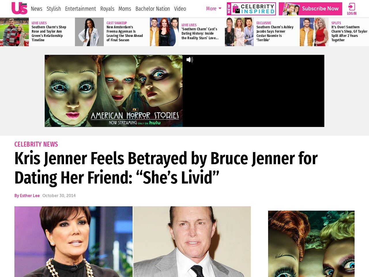 Kris Jenner Feels Betrayed by Bruce Jenner for Dating Her …
