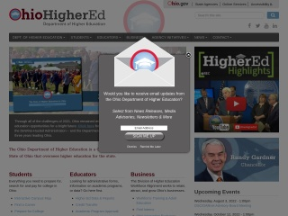Screenshot for uso.edu