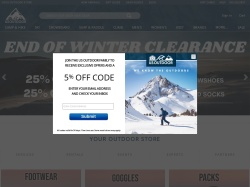 US Outdoor Store screenshot