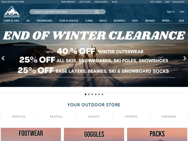 Usoutdoor.com Coupon Codes