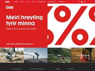 Screenshot for utilif.is