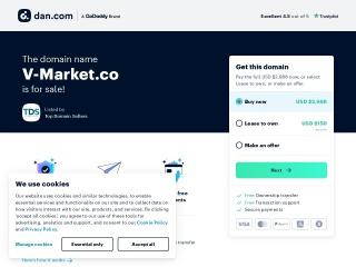 Captura de pantalla para v-market.co