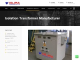 Best Ultra Isolation Transformer Manufacturing company in Hyderabad, India