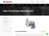 Best Solar Transformer Manufacturers and Suppliers in Hyderabad, India