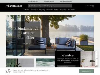 Skärmdump för valamagasinet.se