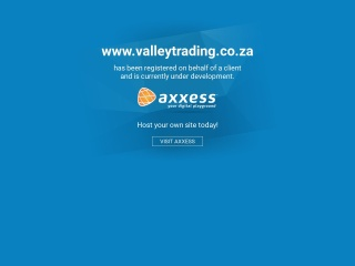 Screenshot for valleytrading.co.za