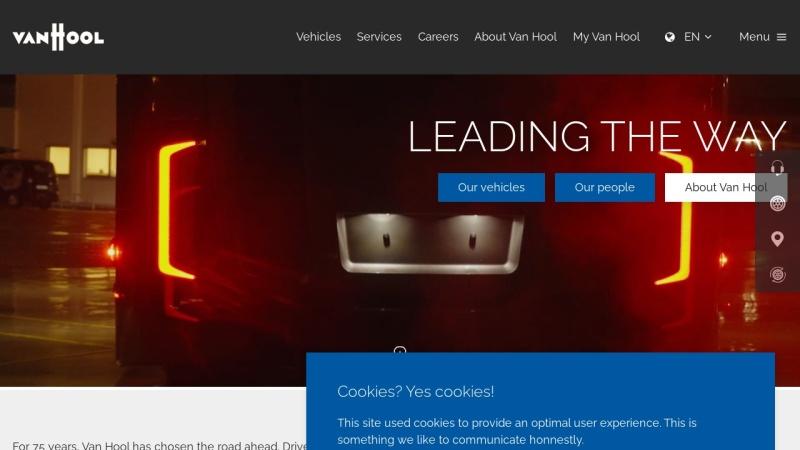 www.vanhool.be Vorschau, Van Hool