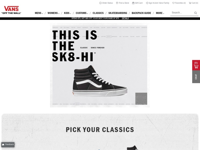 Vans,a Division of VF Out Coupon Codes