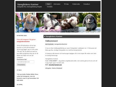 www.varegardenskaniner.n.nu