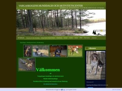www.vargaskogenshunddagisochaktivitetscenter.n.nu