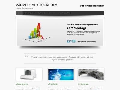 www.varmepumpstockholm.se