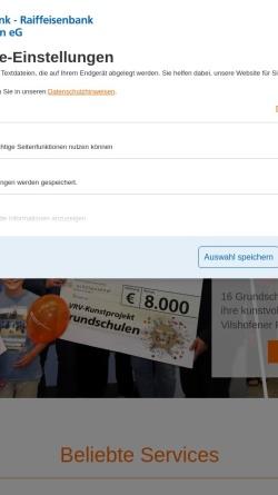 Vorschau der mobilen Webseite www.vb-vilshofen.de, Volksbank Vilshofen eG