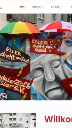 Vorschau der mobilen Webseite www.veedelszoch-eller.de, IG Veedels-Zoch Eller e.V.
