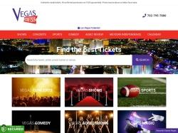 Vegas Tickets - Las Vegas Shows and Las Vegas Concerts