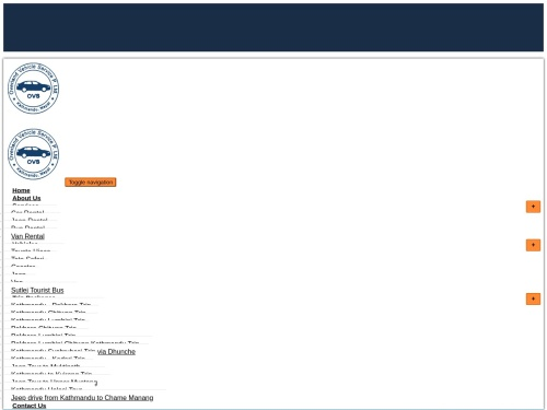 Car Rental Nepal | Rental Vehicle Nepal