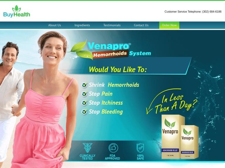 Venapro screenshot