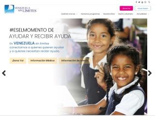 Captura de pantalla para venezuelasinlimites.org