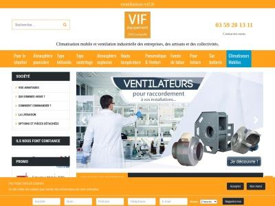 Extracteurs d'air pour chantiers et ateliers - VIF EQUIPMENT